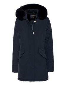 WOOLRICH W's Luxury Arctic Parka Fox Dark Blue