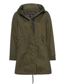 WOOLRICH Shiny Green Olive