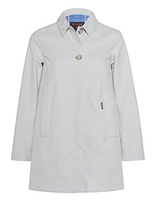 WOOLRICH Palmiers Coat Solid White Igloo