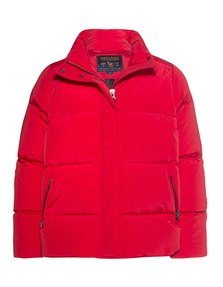 WOOLRICH Buffer Oversize Label Red