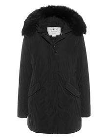 WOOLRICH Luxury Arctic Parka Fox Black