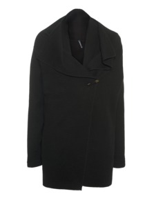 WOOLRICH W's Felted Merino Jacket Black