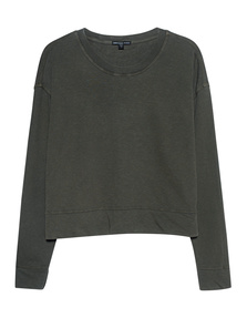 JAMES PERSE Sweat Crew Khaki