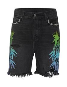Amiri Palms Shorts Black
