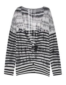 RAQUEL ALLEGRA Shred Back Striped Multi