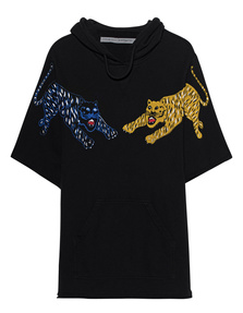 RAQUEL ALLEGRA Half Sleeve Tiger Black