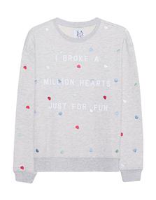 ZOE KARSSEN Million Hearts Heather Grey