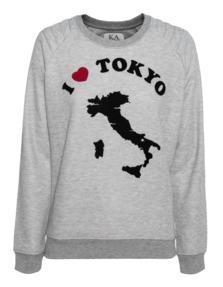 ZOE KARSSEN I Heart Tokyo Heather Grey