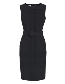MOSCHINO Cheap and Chic Belted Elegance Black
