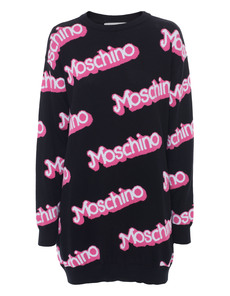 MOSCHINO Barbie Knit Long Black