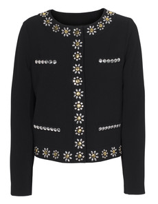 MOSCHINO Cheap and Chic Pearly Flowers Black