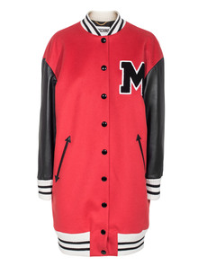 MOSCHINO Triple M College Red