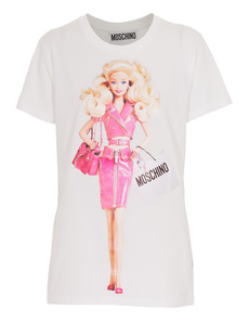 MOSCHINO Barbie Shopping White