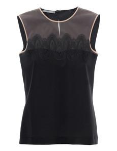 Alberta Ferretti Romantic Silk Lace Black