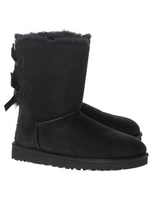 UGG Short Bailey Bow Black