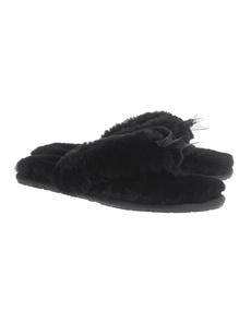 UGG Fluff Flip Flop Black