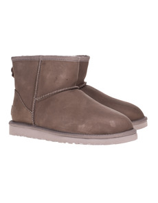 UGG Classic Mini Leather Taupe