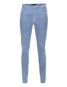 CTRL You Slim Leg Zip Suede Jean