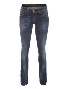 Nudie Jeans Co Tight Long John Organic Calm Blues