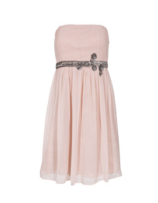 YOUNG COUTURE BY BARBARA SCHWARZER Short Pleat nude