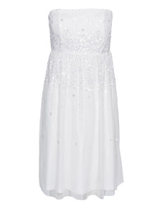 YOUNG COUTURE BY BARBARA SCHWARZER Ivory Sequin White