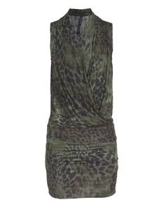 PLEIN SUD JEANIUS Animal Camouflage Olive