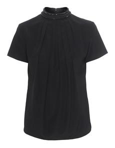 Steffen Schraut Rhinestone Collar Ornate Black