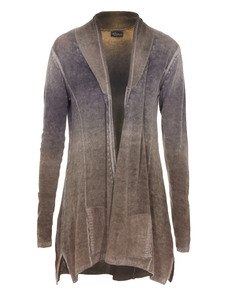 PRINCESS GOES HOLLYWOOD Peace Knit Gradient Grey Taupe