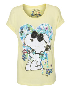 PRINCESS GOES HOLLYWOOD Snoopy Flowers Yellow