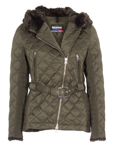 BLAUER USA Quilted Elegance Olive