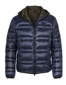 BLAUER USA Down Hood Navy