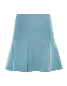 CARVEN Jupe Double Agave Blue