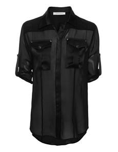 Pierre Balmain  Fluid Silk Black