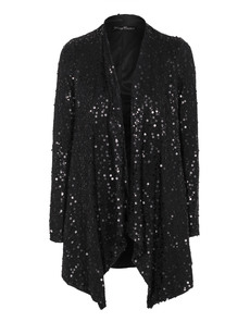 YOUNG COUTURE BY BARBARA SCHWARZER Open Sequin Glam Black