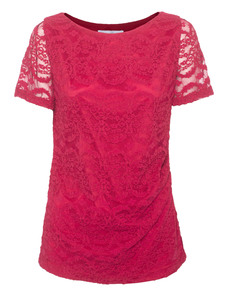 YOUNG COUTURE BY BARBARA SCHWARZER Lady Lace Raspberry