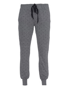 CURRENT/ELLIOTT The Vintage Sweatpant Grey Mini Polka Stars