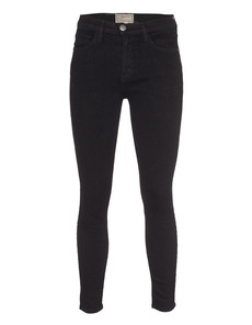 CURRENT/ELLIOTT The High Waist Stiletto Jet Black