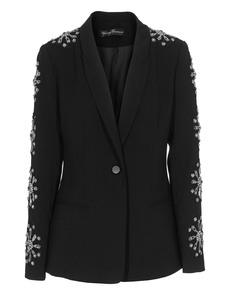 YOUNG COUTURE BY BARBARA SCHWARZER Embroidery Rich Black