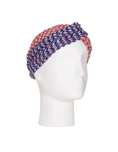 MISSONI Turbante Red Blue Dots