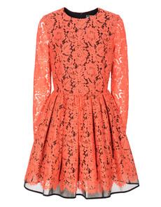MSGM Floral Lace Orange