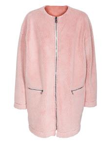 MSGM Cocoon Plush Baby Pink
