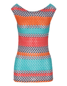 MISSONI Ocean and sun turquoise red