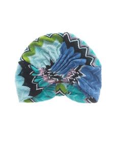 MISSONI Turbante Ocean Multi Turquoise