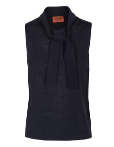 MISSONI Canotta Wool Dark Blue