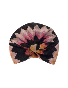 MISSONI Turbante Crochet Multi Black
