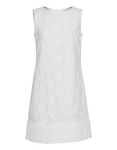 YOUNG COUTURE BY BARBARA SCHWARZER Swing Floral Off-White