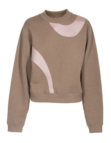 ACNE STUDIOS Bird Appliqué Beige