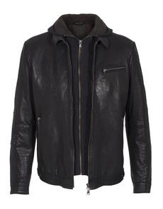 GMS-75 Leather Knit Black