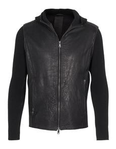 GMS-75 Knit Leather Black