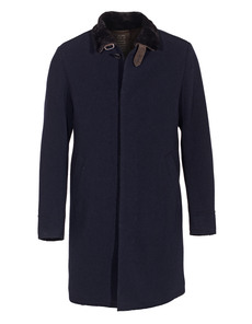 GMS-75 Knit Shearl Dark Blue
